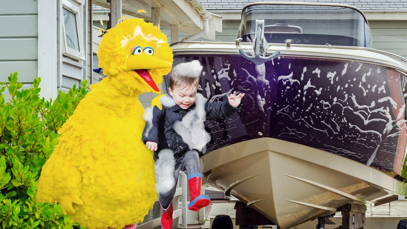 Did Sesame Street Go Too Far Yesterday When Big Bird Dunked A Child In A Bucket Of Soapy Water And Used Him Like A Sponge To Wash His Boat Clickhole
