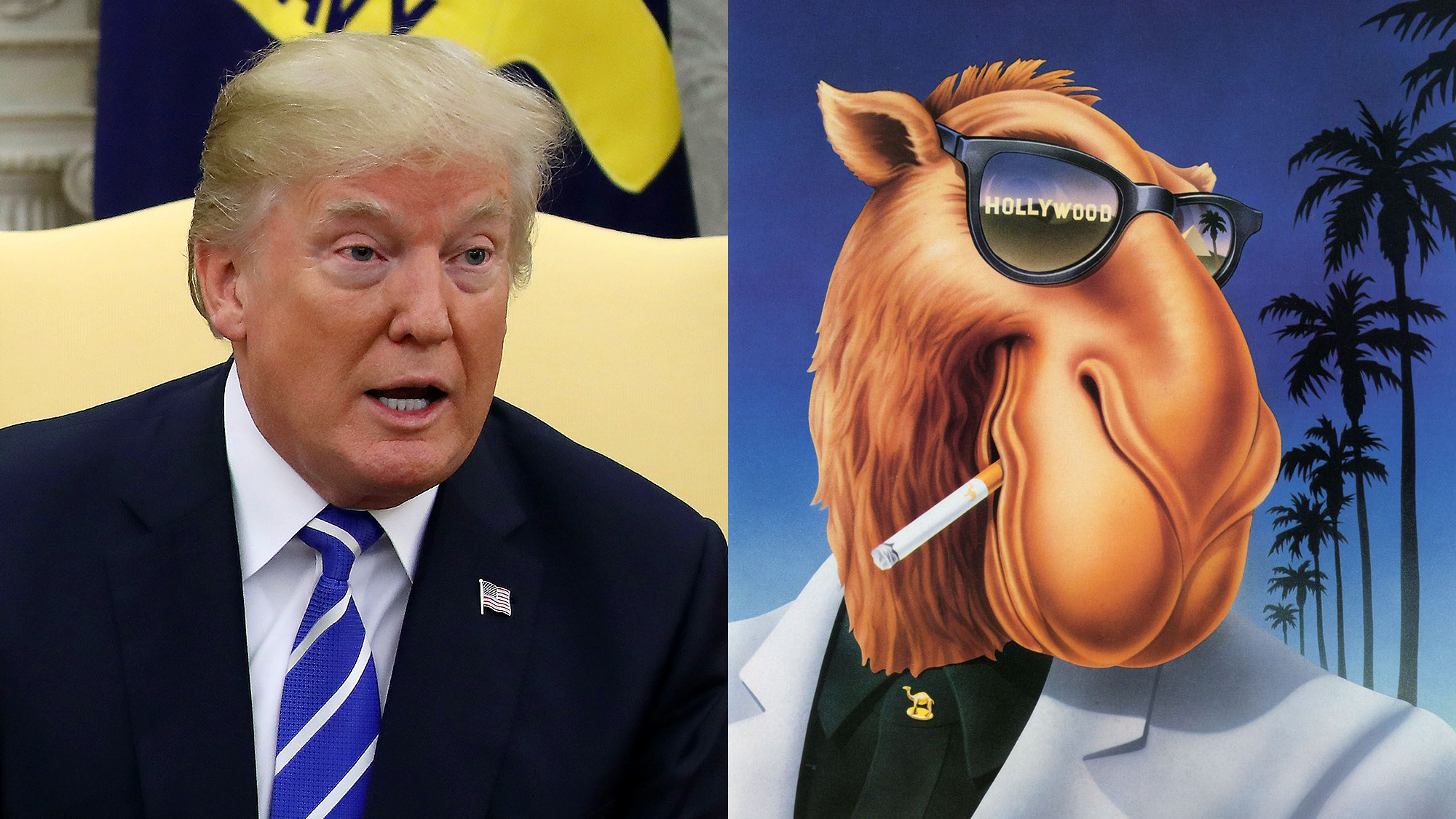 Celebrating An Icon: President Trump Has Invited Joe Camel To The ...