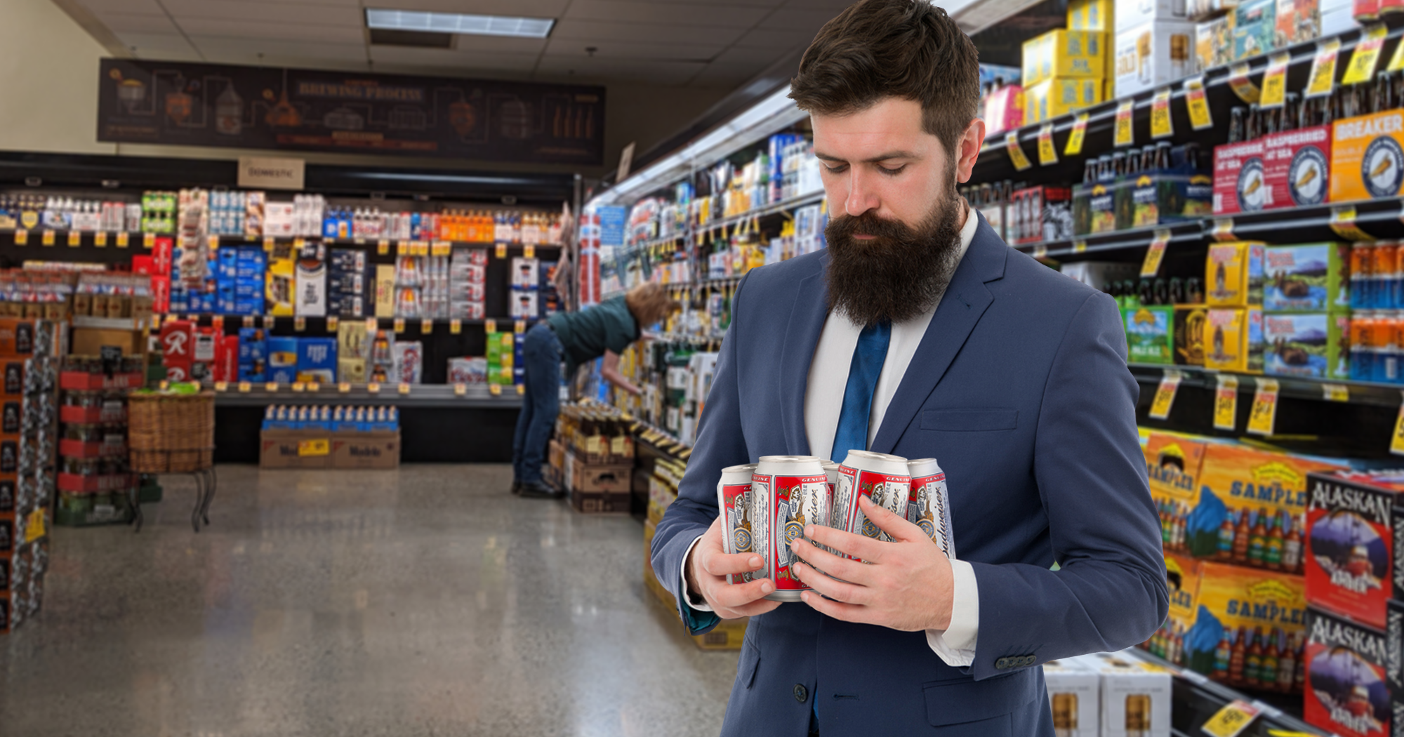 Going Plastic Free: Coors Has Announced Their Six-Packs Will Be Held Together By A Guy