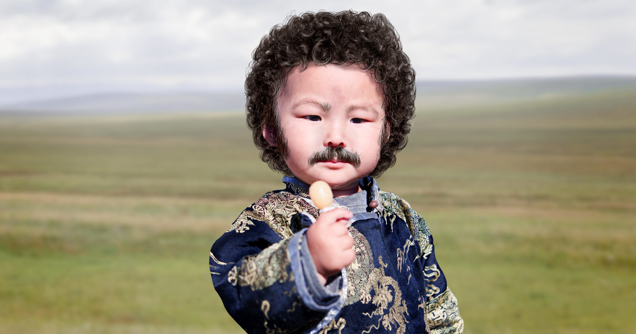 An Exciting New Era For 'Jeopardy!': A Mustachioed Baby Boy From A Tribe Of Nomads In Inner Mongolia Has Been Named As The Successor To Alex Trebek